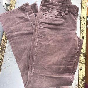 J. Crew Corduroy favorite fit pants jeans 29R